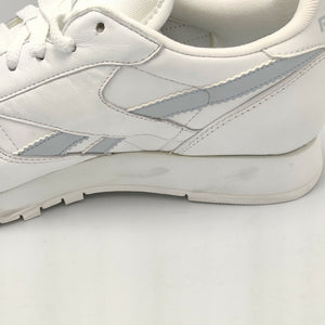 Reebok Womens Classic Leather Zig Zag Retro Trainers - White/White - UK 4.5