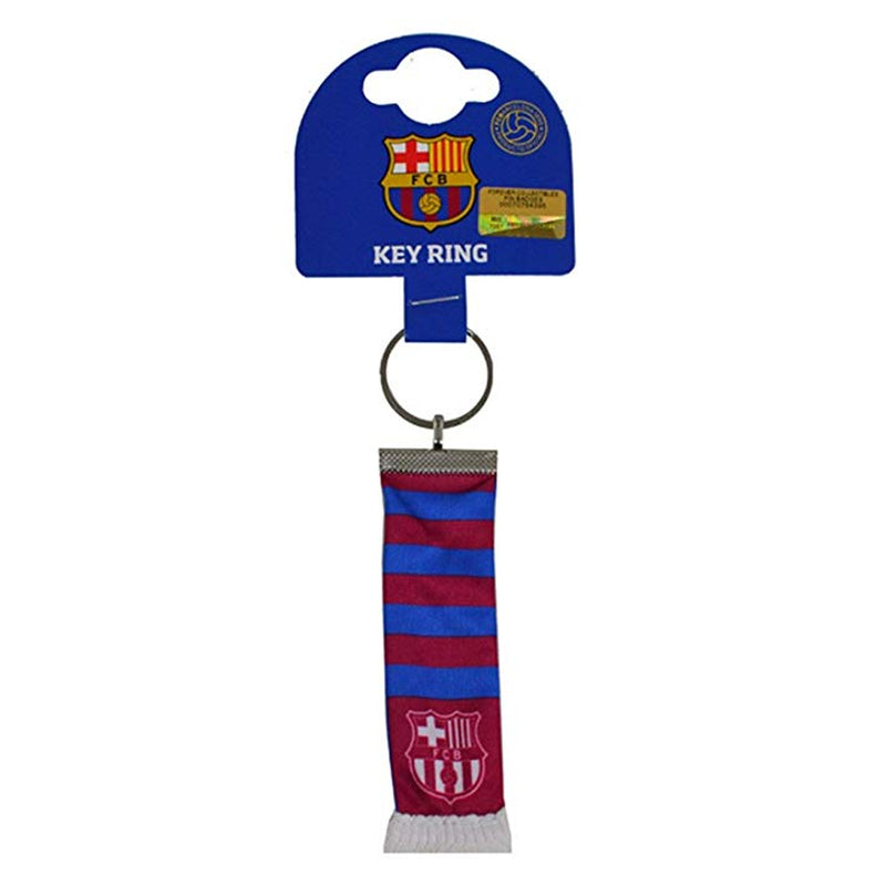 Barcelona FC Official Bar Scarf Key Ring