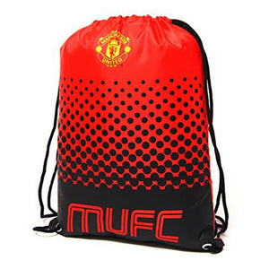 Manchester United FC Official Fade Gym Bag