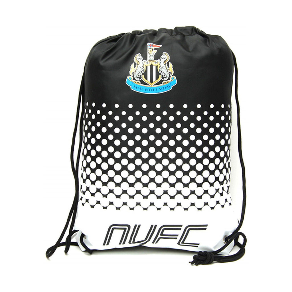 Newcastle United FC Official Fade Gym Bag