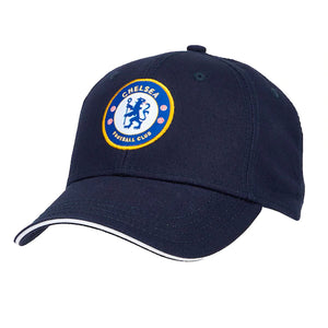 Chelsea FC Adult Official Supercore Cap - Navy