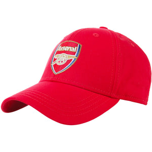 Arsenal FC Adult Official Core Cap - Red
