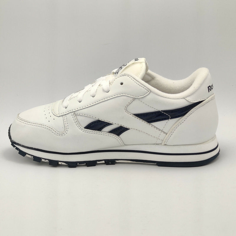 Reebok Womens Classic Leather Sparkle Retro Trainers - White - UK 3.5