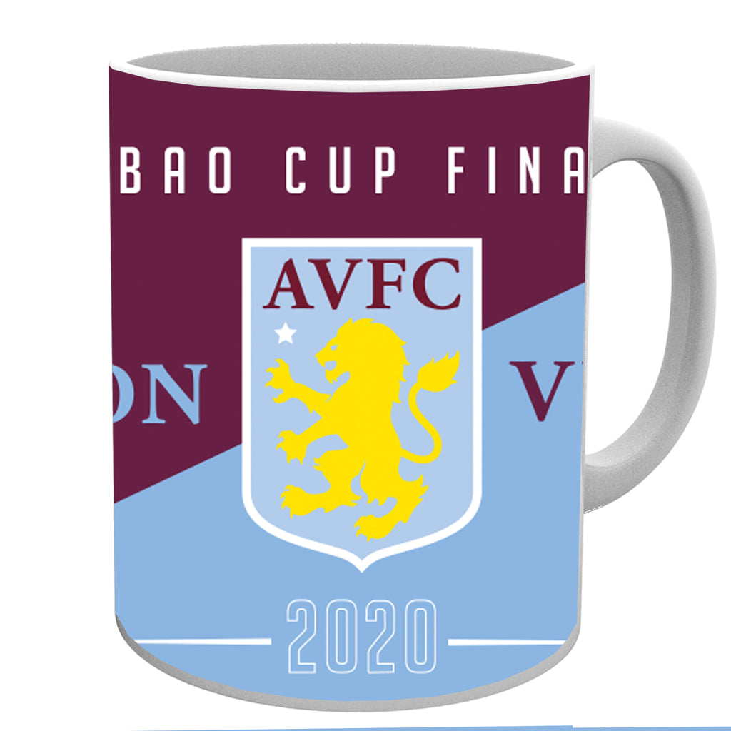 Aston Villa Carabao Cup Finalists 2020 Official 11 oz Mug With Box