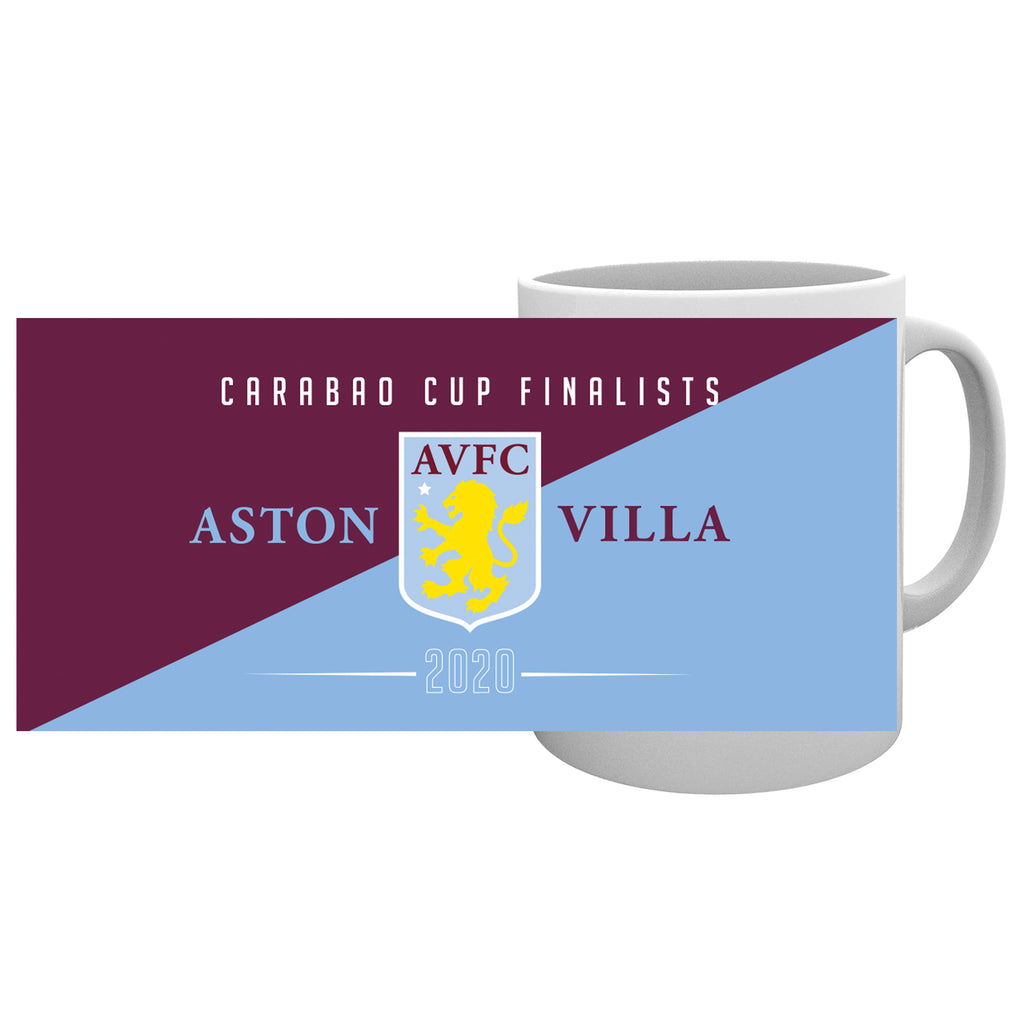 Aston Villa Carabao Cup Finalists 2020 Official 11oz Mug With Box