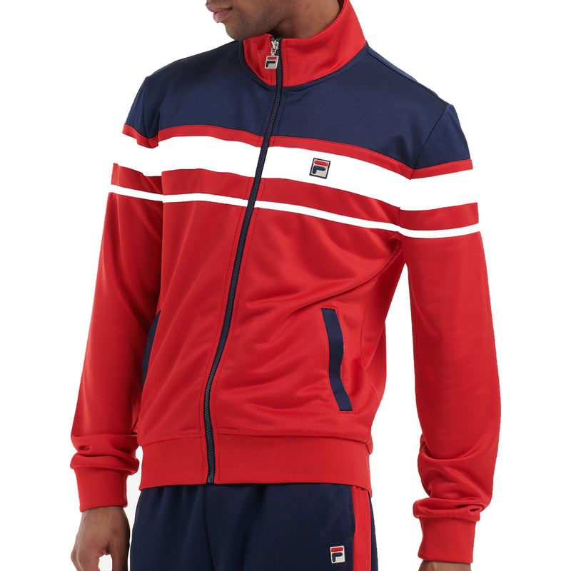 FILA Mens Gordon Colour Block Track Jacket