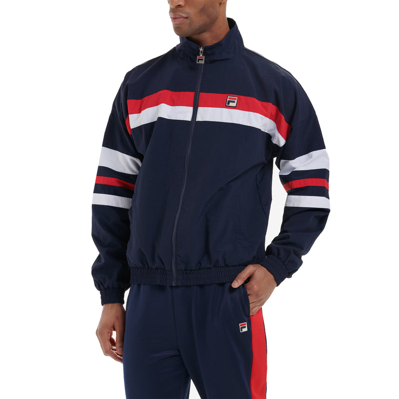 FILA Mens Tyrell Colourour Block Woven Track Jacket