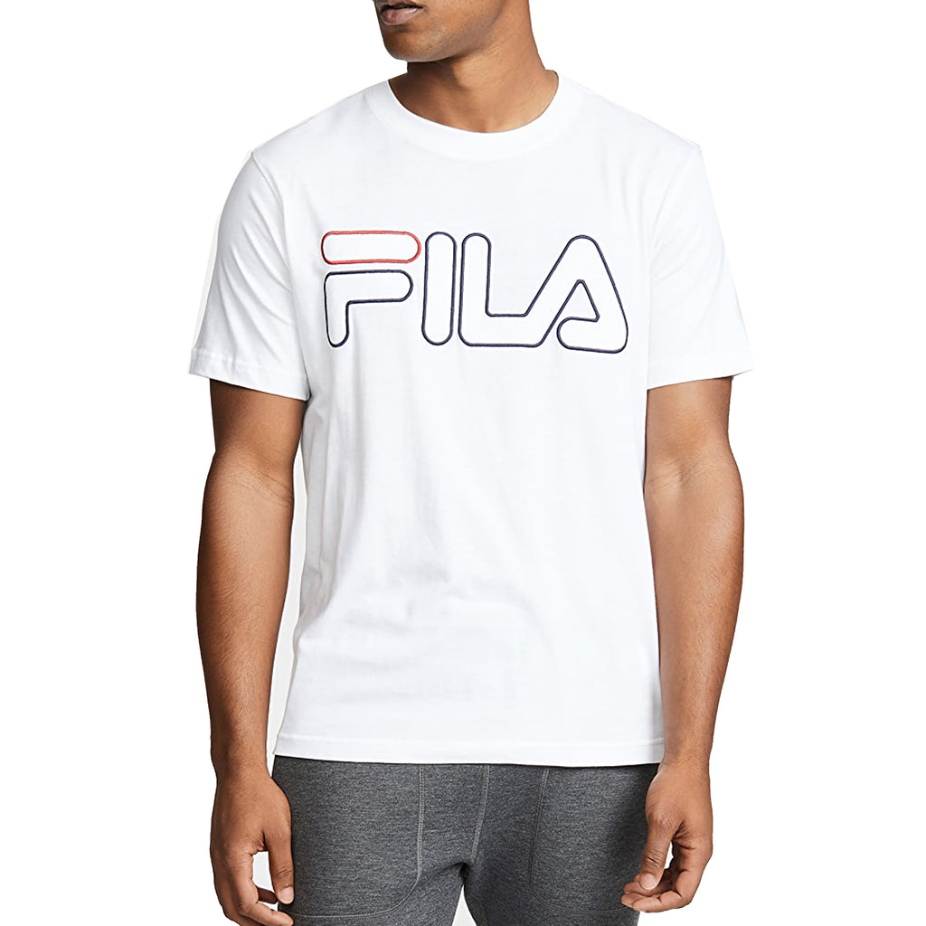 FILA Mens Borough Short Sleeve T-Shirt