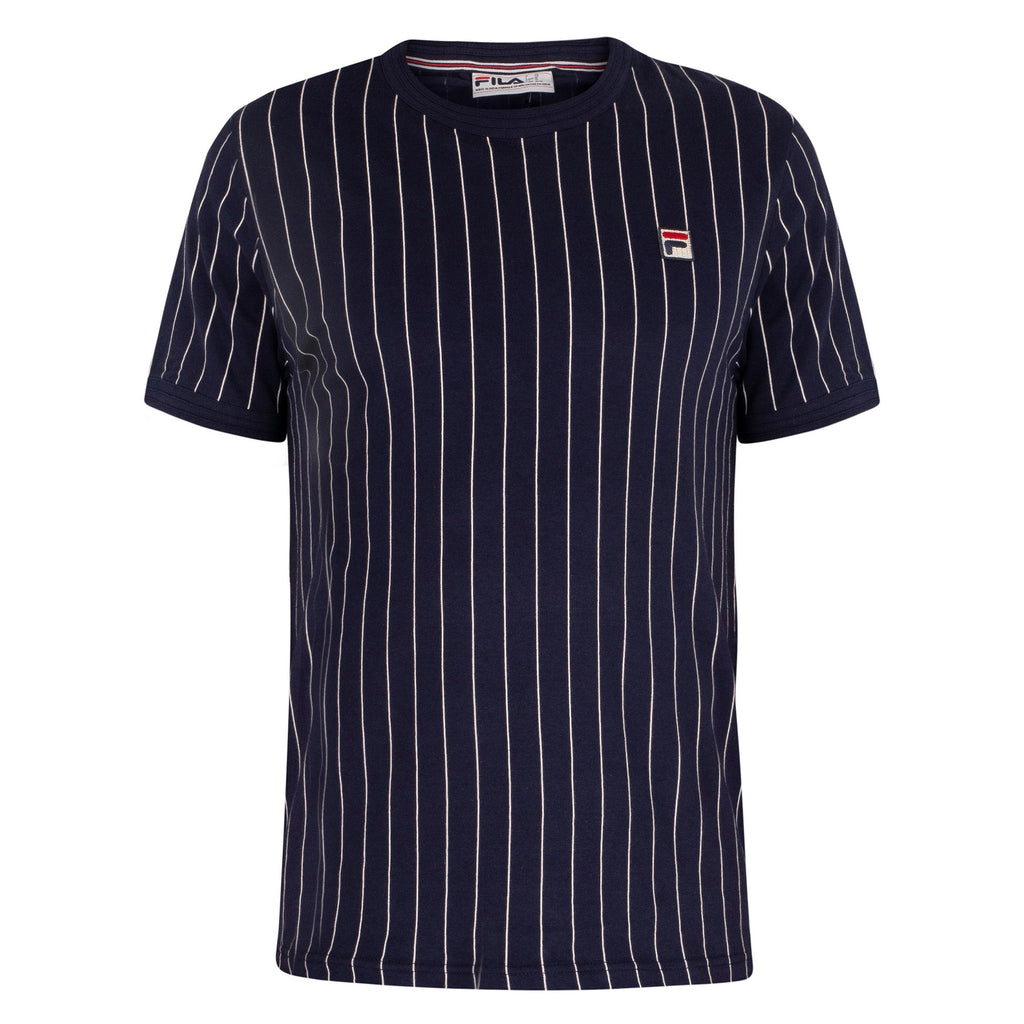 FILA Mens Guilo Short Sleeve Stripe T-Shirt