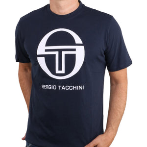Sergio Tacchini Mens Iberis Short Sleeve Cotton T-Shirt