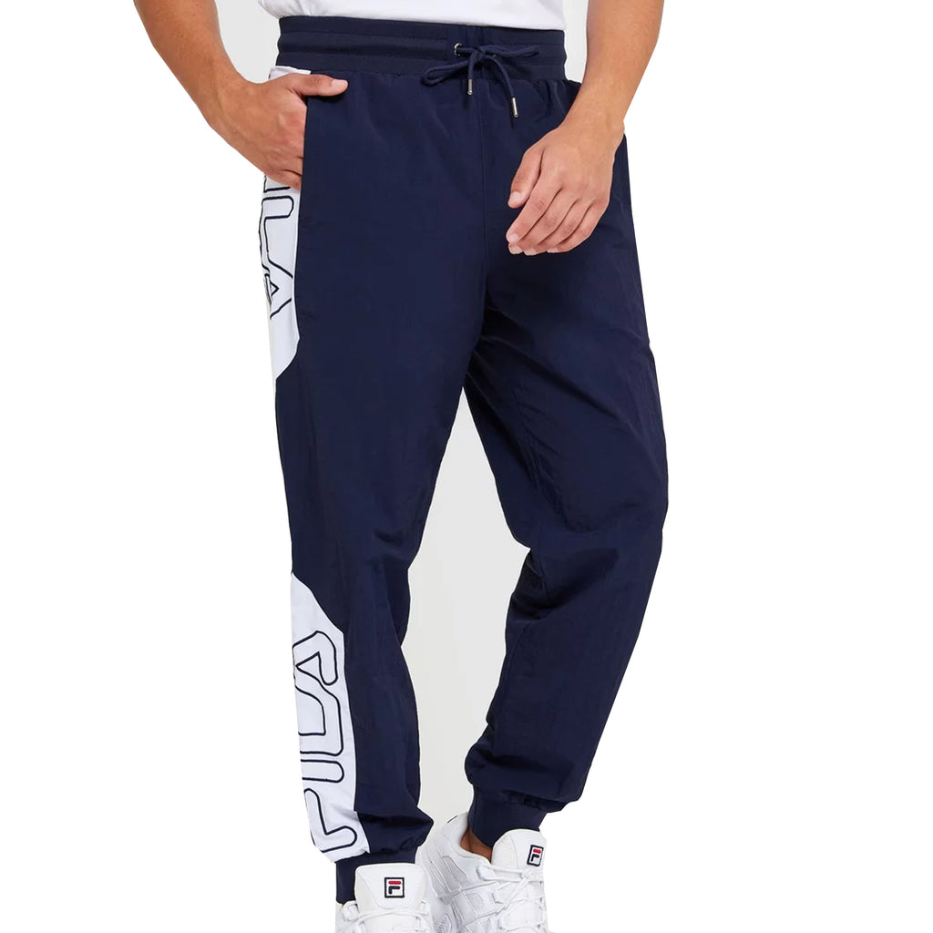 FILA Mens Mojave Colour Block Track Pants - Peacoat