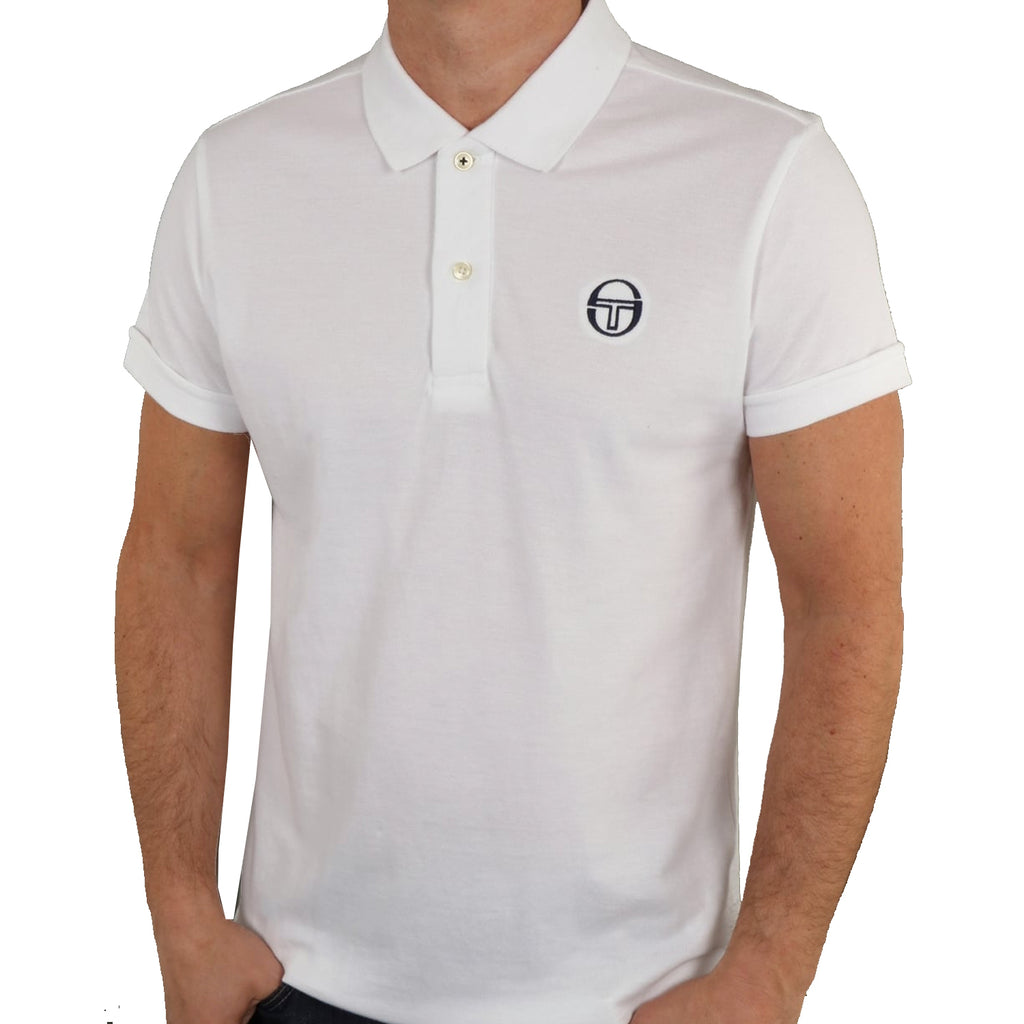 Sergio Tacchini Mens Classic Cotton Pique Polo Shirt