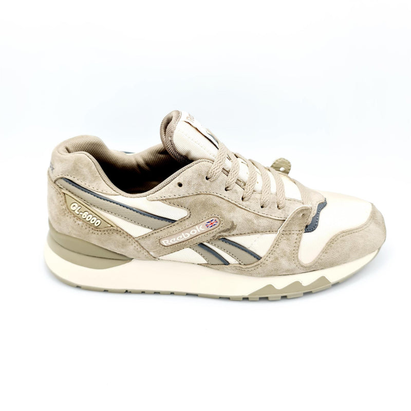 Reebok Classic Mens GL-6000 Trainers - Beige - UK 8