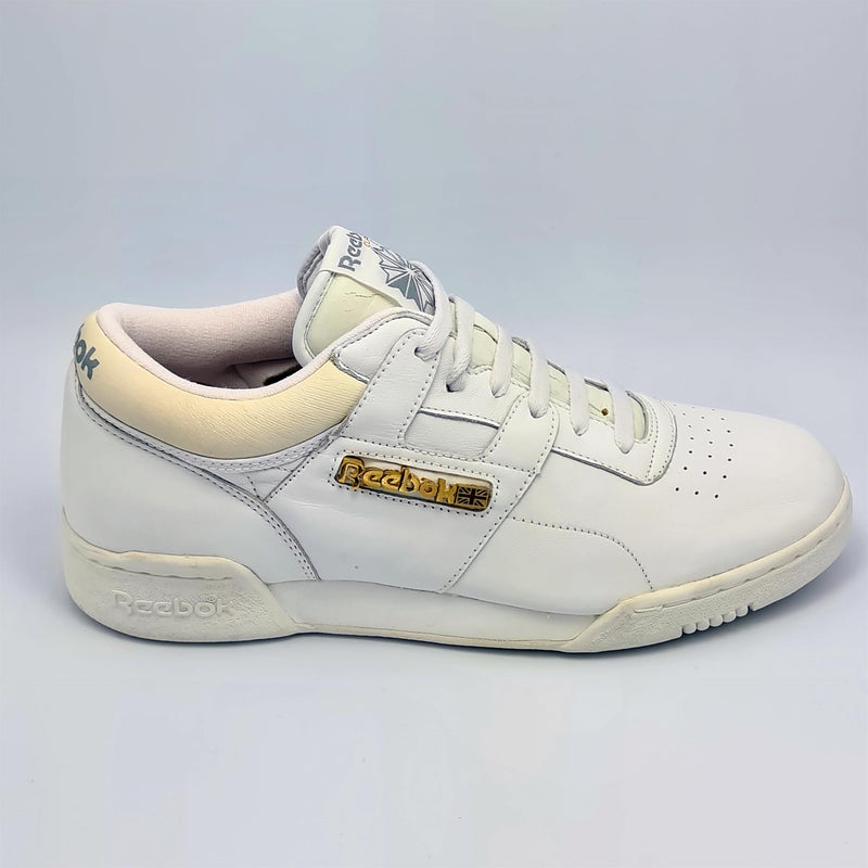 Reebok Classic Mens Retro Exertion Low Trainers - White - UK 8 - Faulty
