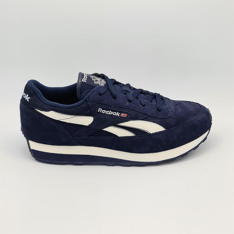 Reebok Classic Renaissance Nubuck Mens Retro Trainers - Blue - UK 8