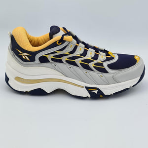Reebok DMX Mens Retro Trainers - Blue/Yellow - UK 8
