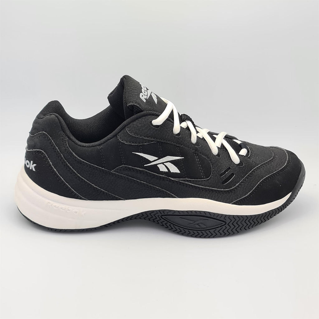 Reebok Mens Smash Court III All Court Tennis Shoes - Black - UK 8