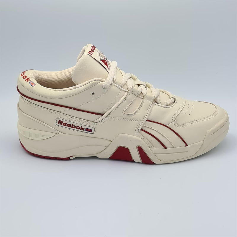Reebok Mens Classis Pro Workout Low Trainers - Cream - UK 8