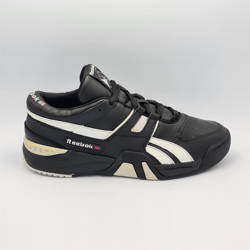 Reebok Mens Classic Retro Leather Trainers - Black - UK 8