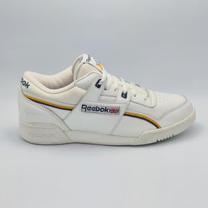 Reebok Classic Leather Club Two Stripes Trainers - White - UK 8