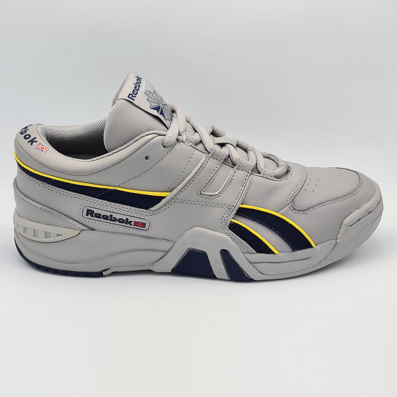 Reebok Mens Classic Pro Workout Retro Trainers - Grey - UK 8