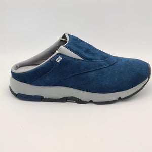 Reebok Classic Mens Slip In Suede Shoes - Navy - UK 8