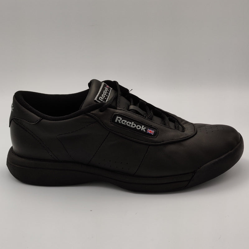 Reebok Womens Classic Leather Upgrade Retro Trainers - Black - UK 4.5