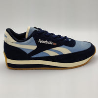 Reebok Womens Classic Aztec II CPR Retro Trainers - Blue - UK 4.5