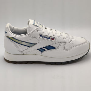 Reebok Womens Classic Leather G Retro Trainers - White - UK 4.5