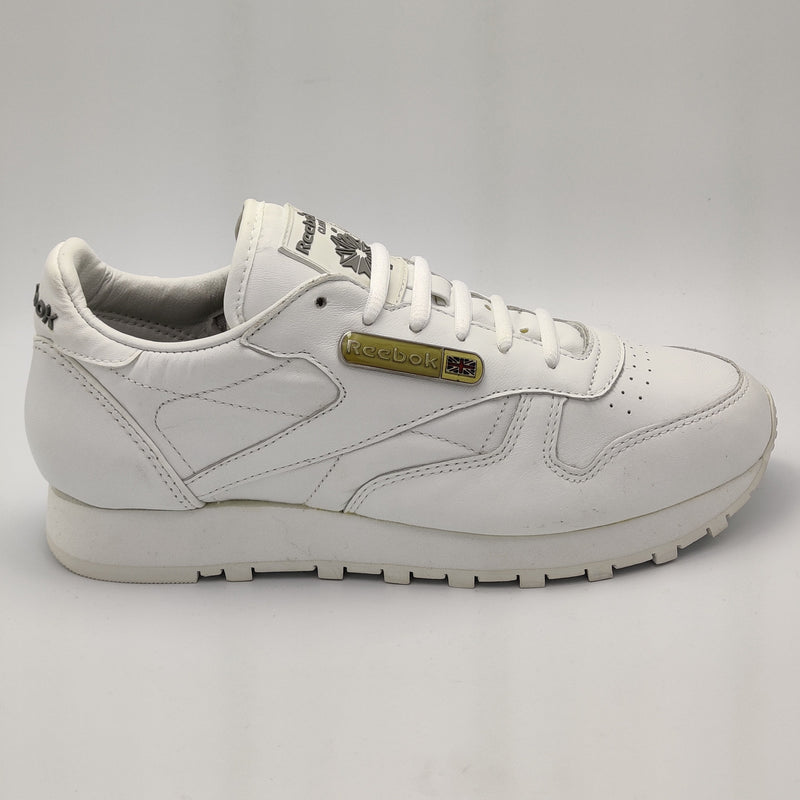 Reebok Womens Classic Leather Icon Retro Trainers - White- UK 4.5