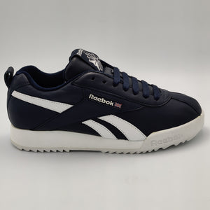 Reebok Womens Lancaster Leather Retro Trainers - Blue - UK 4.5 - FAULTY