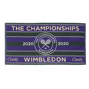 Wimbledon 2020 Championship Official Christy Towel - Green