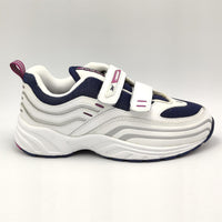 Reebok Infants Lace Free Lightweight Retro Shoes - White - UK K12.5