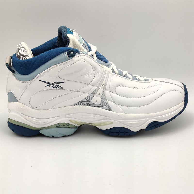 Reebok Junior Motivator Trainer DMX Retro Shoes - White - UK 4.5
