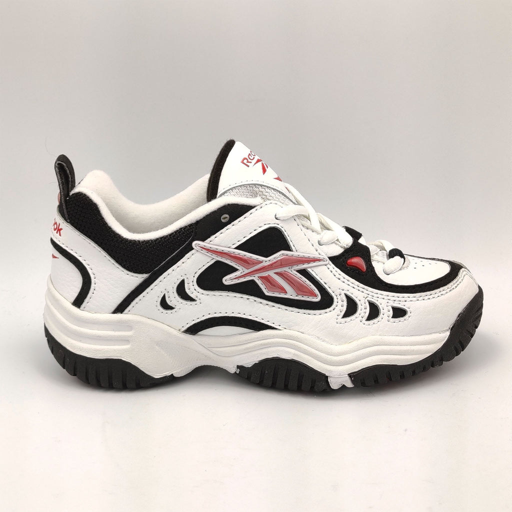 Reebok Infant Retro Trainers - White/Black - UK K12.5