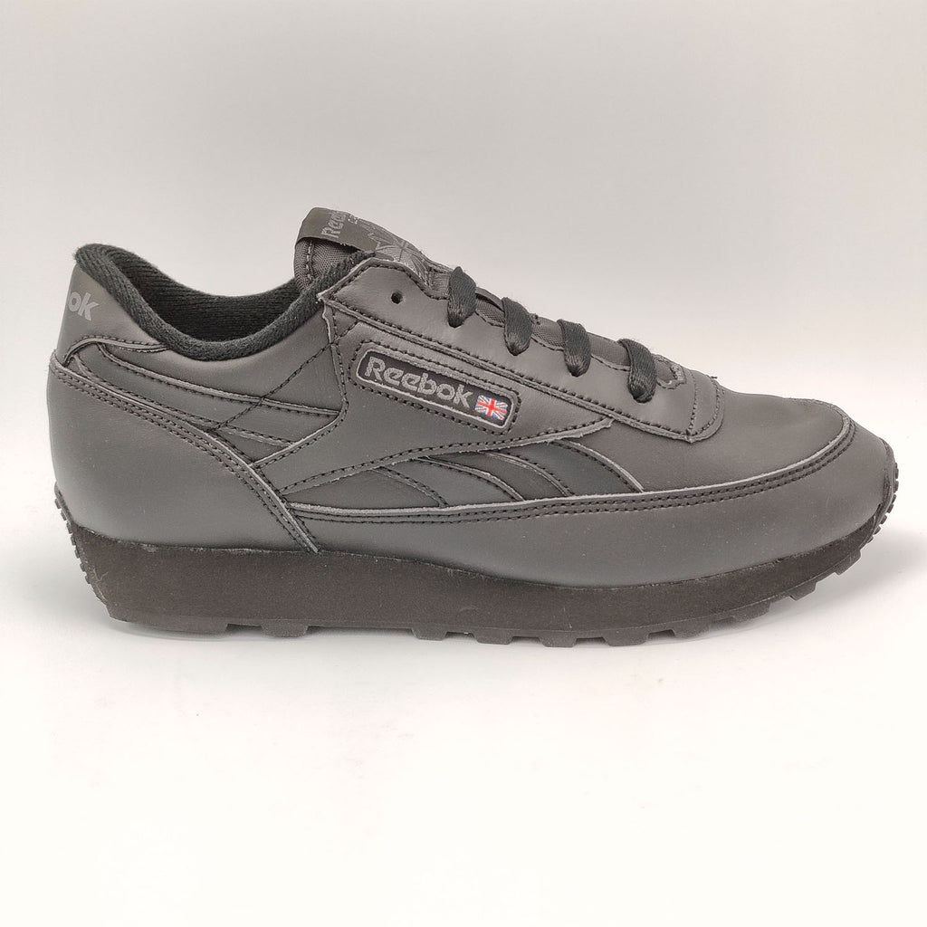 Reebok Classic Leather Renaissance Junior Shoes - Black - UK 3.5