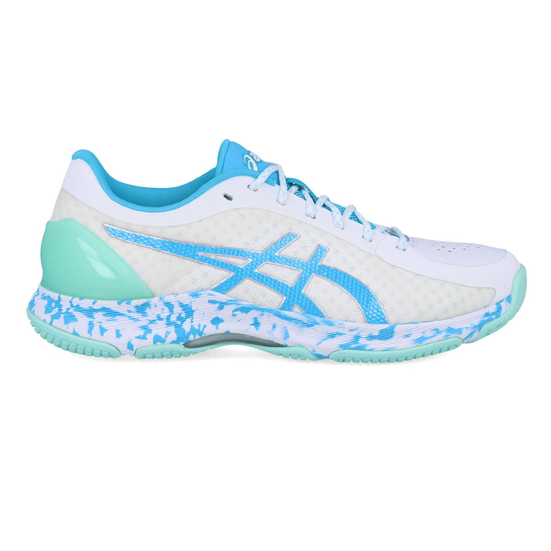 Asics Womens Netburner Super FF Netball Shoes - White - UK 9