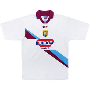 Aston Villa Mens Retro Original 1999-2000 Away T-Shirt - XL - 46/48""