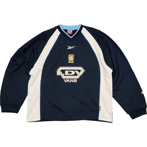 Aston Villa Mens Retro Original 1999-2000 Jumper - Large