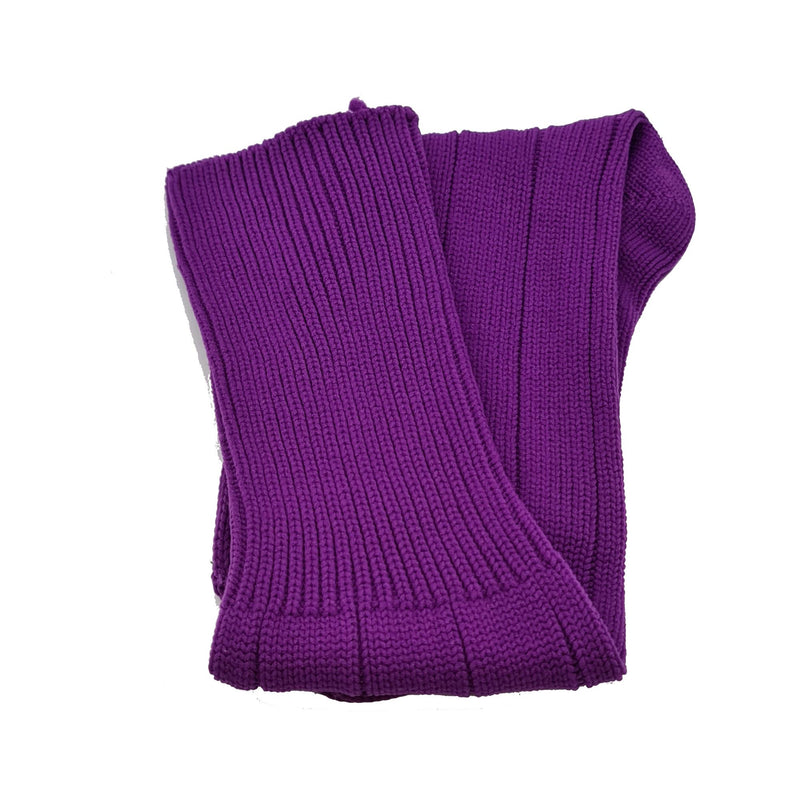 Plain Football Rugby Premium Socks - Made In UK - PURPLE - JUNIOR ( UK 13-5)