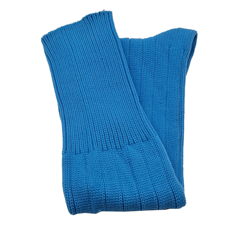 Plain Football Rugby Premium Socks - Made In UK - SKY BLUE - JUNIOR ( UK 13-5)