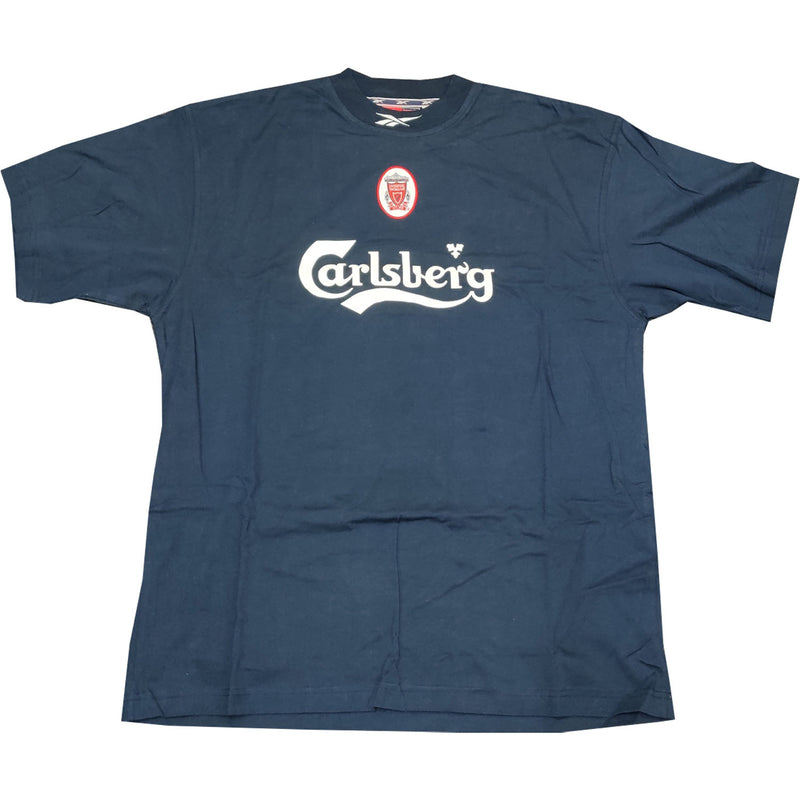 Liverpool Mens Retro Original Mid 90's Short-Sleeved T-Shirt - Large