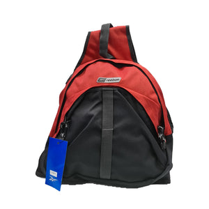 Reebok Unisex Two Colour Sports Monostrap Backpack - Navy/Red