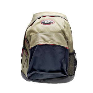 Reebok Unisex Two Colours Padded Performance Backpack - Beige/Navy