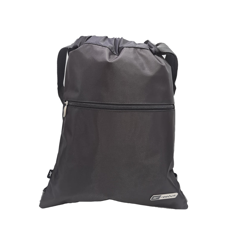 Reebok Unisex Small Drawstring Bag - Black