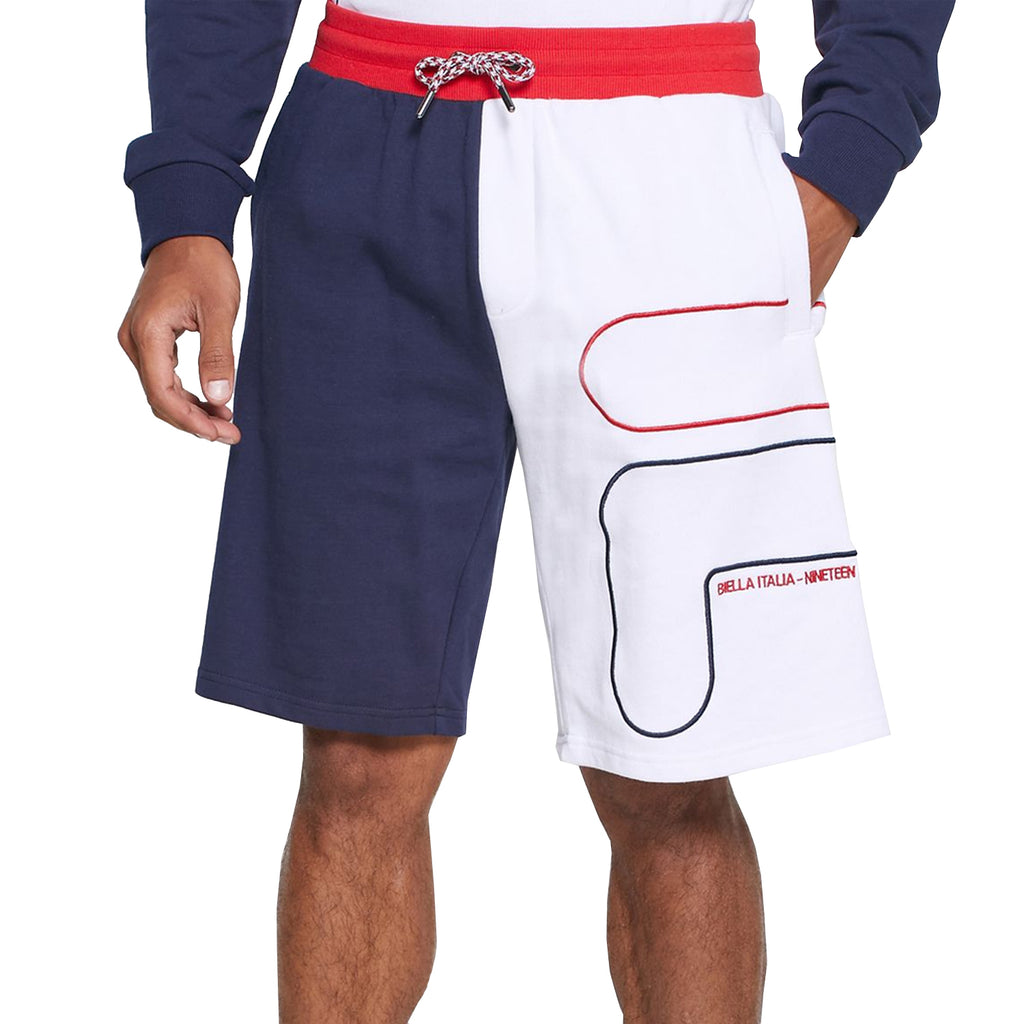 FILA Mens Sami F Outline Contrast Shorts