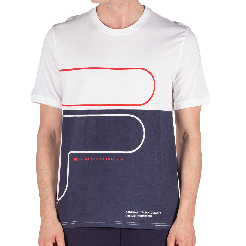 Fila Mens Outline Graphic Short Sleeve T-Shirt