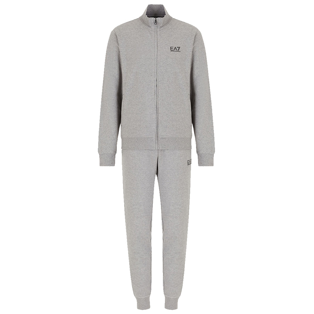 Emporio Armani EA7 Mens Train Core ID French Terry Cotton Tracksuit