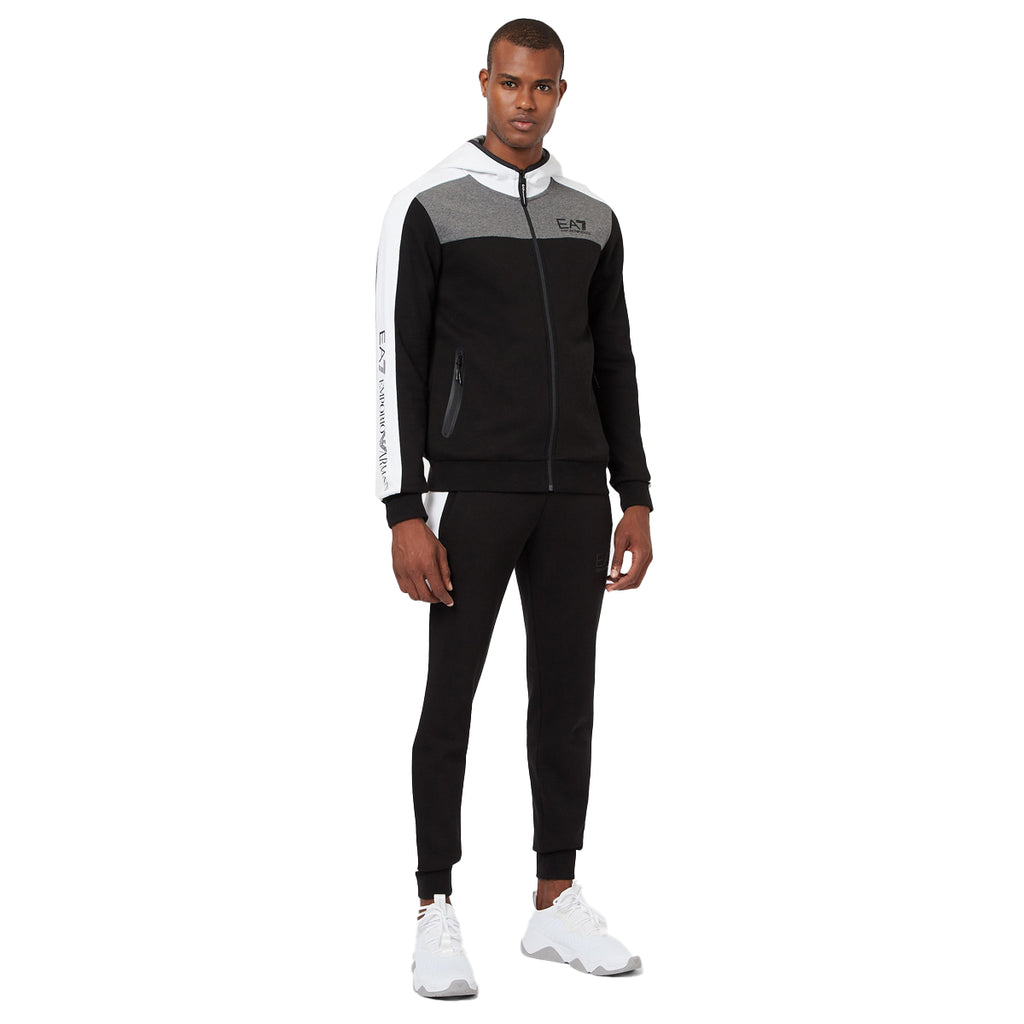 Emporio Armani EA7 Mens Urban Colour Block Tracksuit