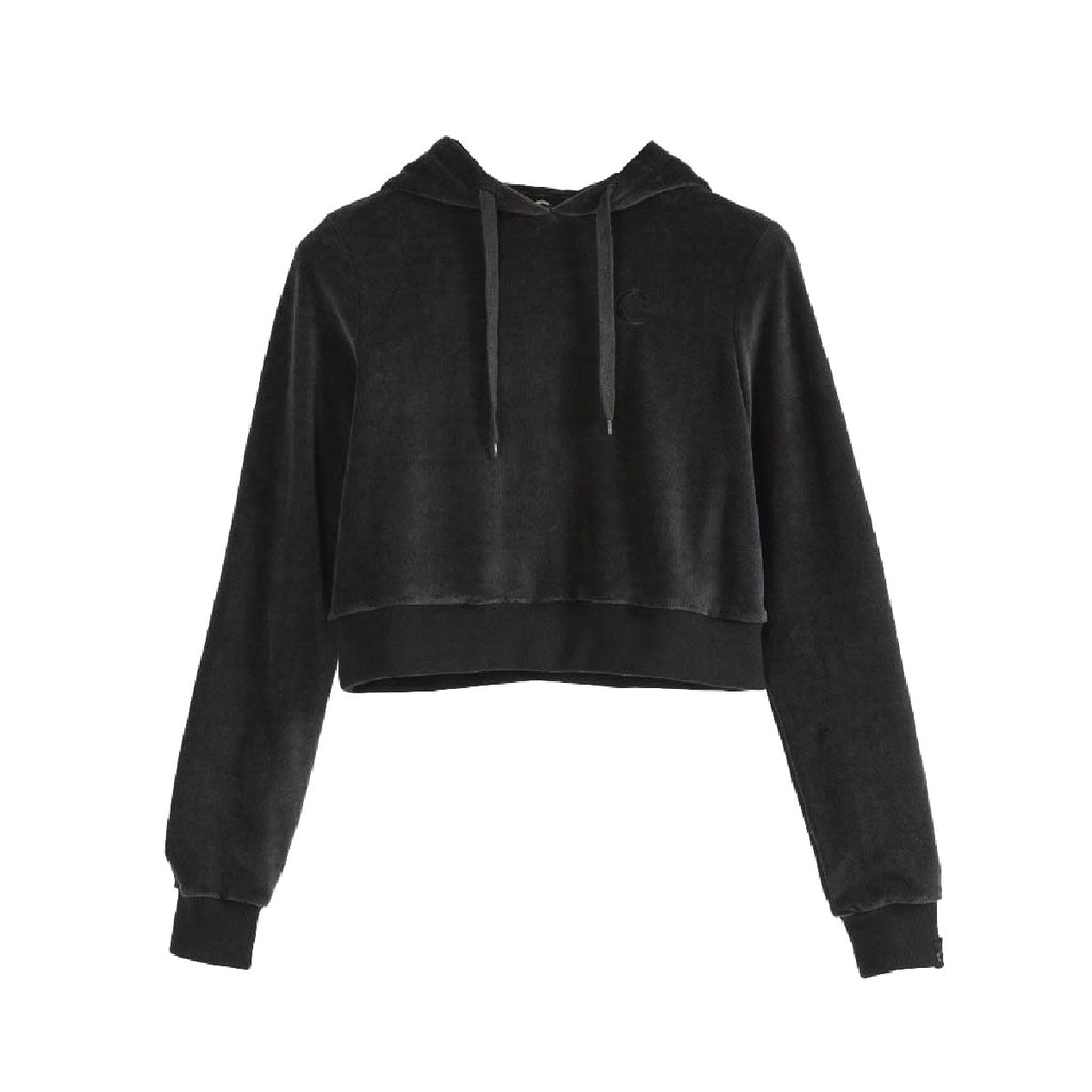 Certified London Womens Nikaho Velour Hoodie